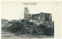 Flirey : rue et Église, la Guerre en Lorraine
