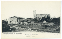 Flirey : ruines, la Guerre en Lorraine