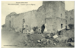 Gellenoncourt. Cimetière (près de l'Église), Guerre 1914-1915