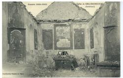 Église de Gellenoncourt (Intérieur), Guerre 1914-1915