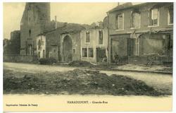 Haraucourt. Grande Rue