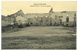 Haraucourt. Ferme en Ruines, Guerre 1914-1915