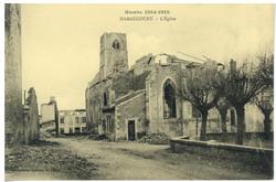 Haraucourt. L'Église, Guerre 1914-1915