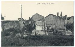 Leyr : avenue de la Gare