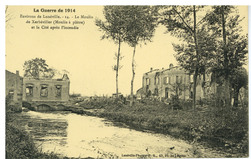 Environs de Lunéville. 14. Le Moulin de Xerbéviller (Moulin à plâtre) et l…