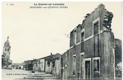 Mandres-aux-Quatre-Tours, la Guerre en Lorraine