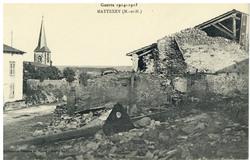 Mattexey (M.-et-M.), Guerre 1914-1915