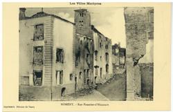 Nomeny. Rue Fourrier-d'Hincourt : les Villes Martyres