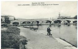 Pont-à-Mousson. Défense du Pont préparée par les 26e Chasseurs, guerre de …