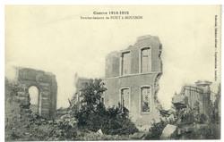 Bombardement de Pont-à-Mousson, Guerre 1914-1915