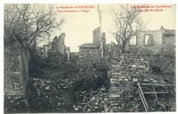 La Bataille de Rozelieures. Vue intérieure du Village, la Guerre en Lorrai…