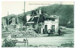 Ruines de Thiaucourt (Café de la Gare)