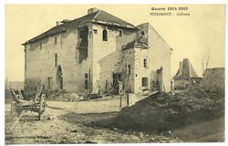 Vitrimont. Château, Guerre 1914-1915