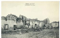 Vitrimont en ruines, Guerre 1914-1915