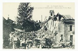 Bombardement aérien de Bar-Le-Duc : ruines Quai Victor Hugo, la Grande Gue…