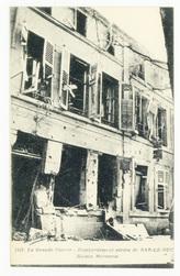 Bombardement aérien de Bar-Le-Duc. Maison Merceron, la Grande Guerre