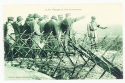 Le Roi d'Espagne au Fort de Douaumont