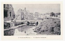 Fresnes-en-Woëvre. Un Quartier bombardé
