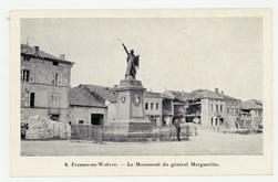 Fresnes-en-Woëvre. Le Monument du général Margueritte