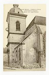 Saint-Mihiel : l'Église du Bourg renfermant le sépulcre (Œuvre de Ligier-R…