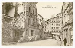 Verdun. Rue de l'Hôtel de Ville