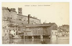 Verdun : la Meuse, Cloître et Cathédrale