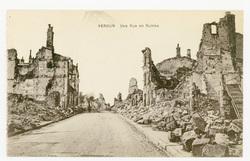 Verdun : une Rue en Ruines