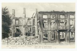 Verdun. Ruines après le bombardement. Ruins after the bombardment. Guerre …