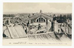 Verdun. Vue sur le théâtre. View of the local theatre. Guerre 1914-1916