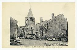 Vigneulles-les-Hattonchâtel : l'Église et le Presbitère