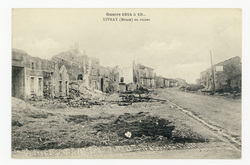 Xivray (Meuse) en ruines  Guerre 1914 à 19…