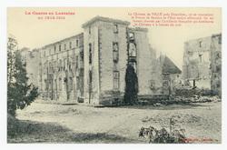 Le Château de Villé près Doncières, où se trouvaient le Prince de Bavière …