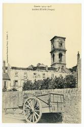 Raon-l'Étape (Vosges), Guerre 1914-1915