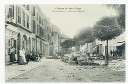 L'Émeute de Raon-l'Étape. Rue Jules-Ferry, le Champ d'Action