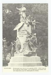 Saint-Dié : monument aux morts de la Guerre 1914-1918. Œuvre du sculpteur …