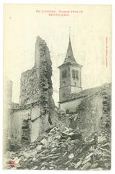 Xaffévillers, en Lorraine, Guerre 1914-15