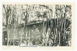 Un abri au Bois de Romière, la Guerre en Lorraine