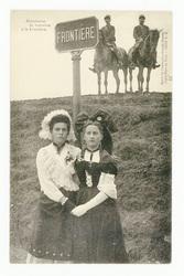 Alsacienne et Lorraine à la frontière