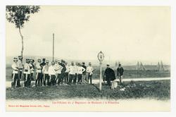 Les Officiers du 5e Régiment de Hussards à la Frontière