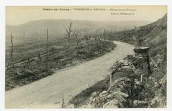 Chemin des Dames : Vendresse et Troyon, observatoires Français, French Obs…