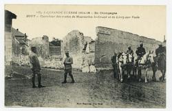 Bouy : carrefour des routes de Mourmelon-le-Grand et de Livry-sur-Vesle, l…