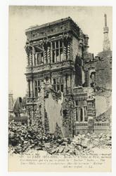 Arras. L'Hôtel de Ville, merveille d'architecture que n'a pas respectée la…