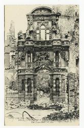 Arras. Hôtel de Ville. The Town-Hall. Guerre 1914-1916