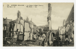 Les Ruines d'Albert (Somme). The Ruins. Guerre 1914-1916