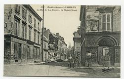 Bombardement d'Amiens. La Rue de la Hotoie. La Hotoie Street