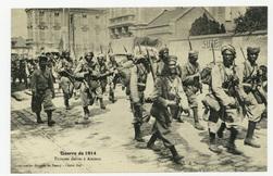 Troupes noires à Amiens, guerre de 1914