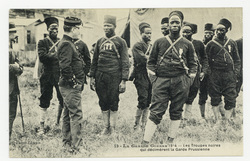 Les Troupes noires qui décimèrent la Garde Prussienne, la Grande Guerre 19…