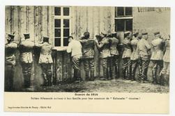 """Soldats Allemands écrivant à leur famille pour leur annoncer de """"Kolossale…"""