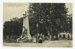 Bar-le-Duc : place de la Gare, monument des Enfants de la Meuse