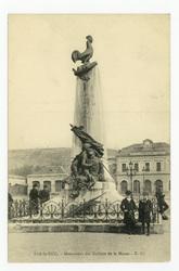 Bar-le-Duc : monument aux Enfants de la Meuse